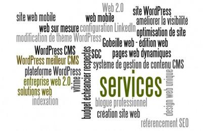 Gobeille web [édition web et réseaux sociaux] SERVICES